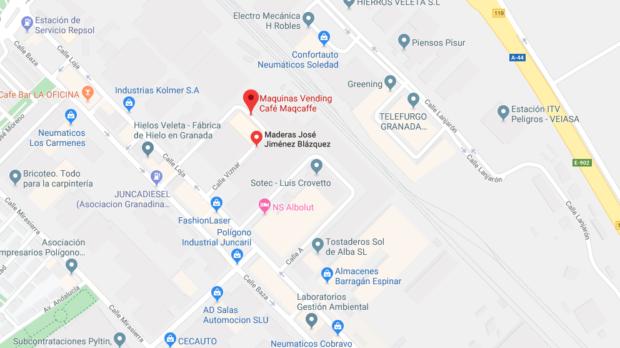 Mapa Maqcafe